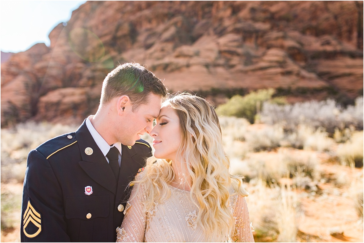 Snow Canyon | Ashley DeHart Photography | Utah Wedding Photographer
