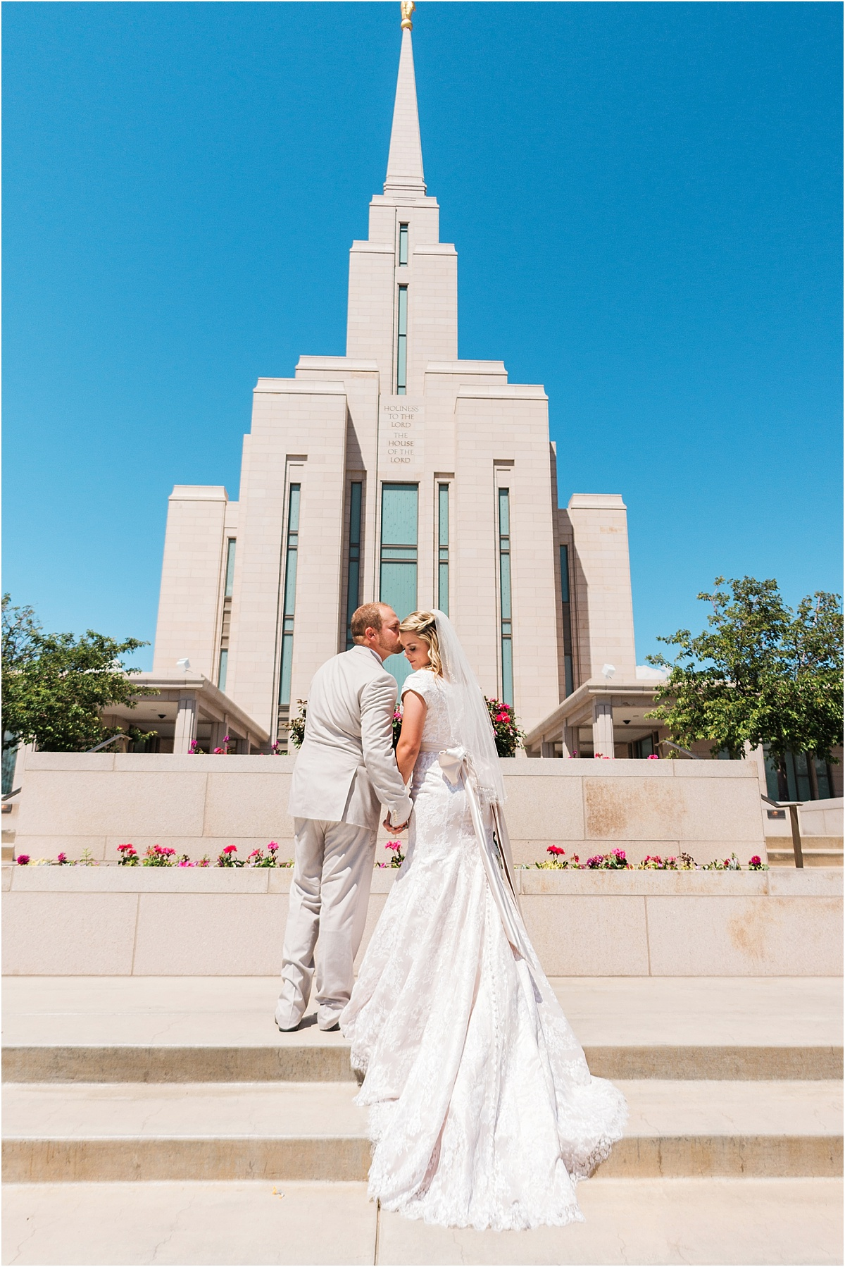 utah wedding photographer - oquirrh temple