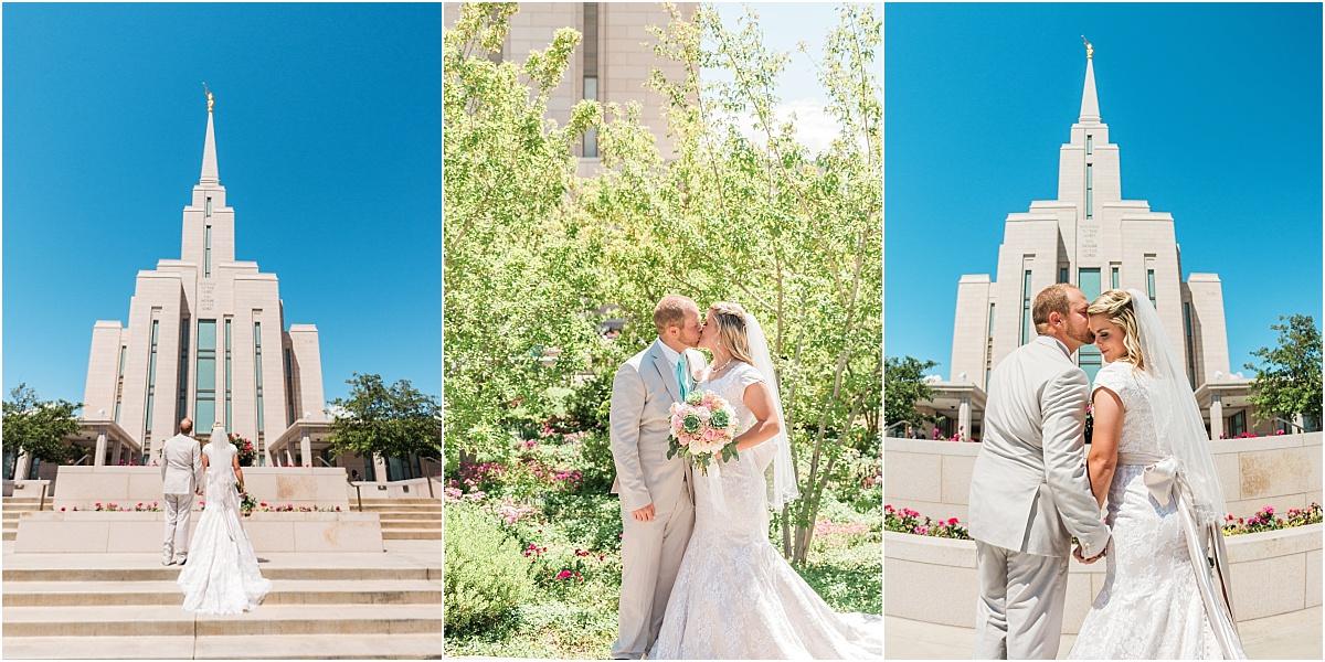 utah wedding photographer - oquirrh temple