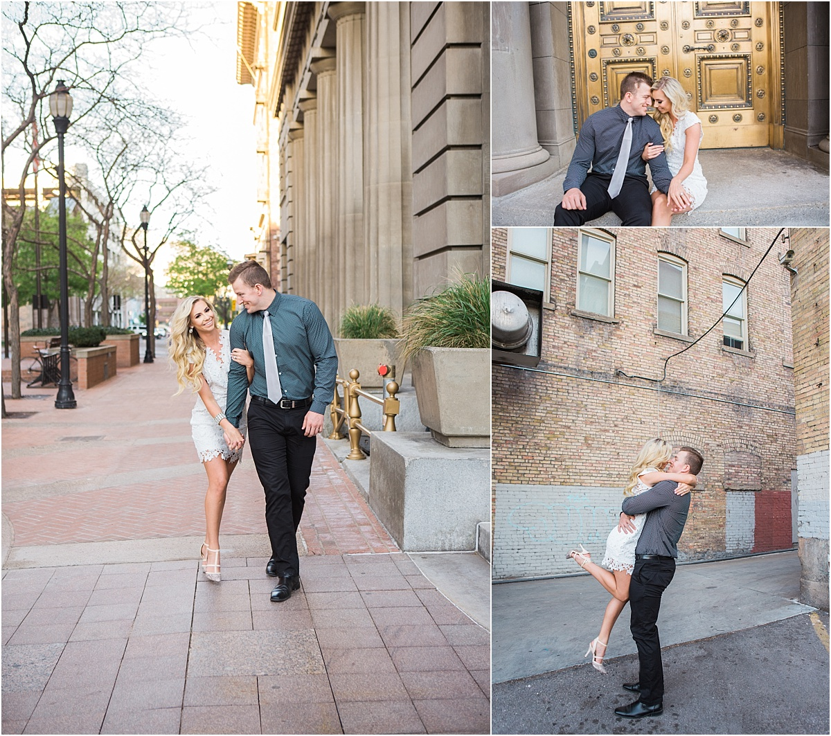 Downtown Salt Lake City Engagements | Utah Wedding Photographer