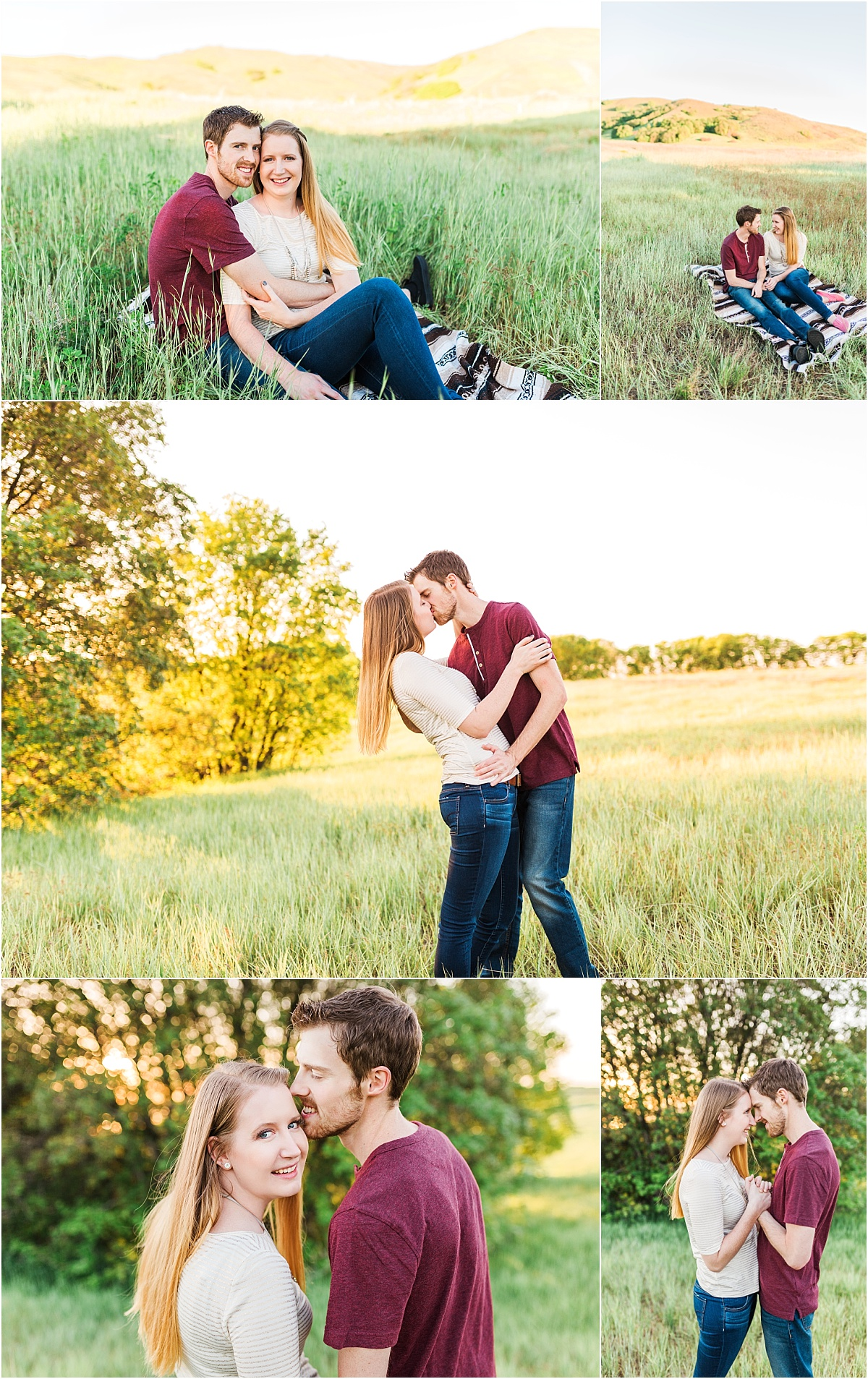 Utah Engagement Session, Tunnel Springs Park