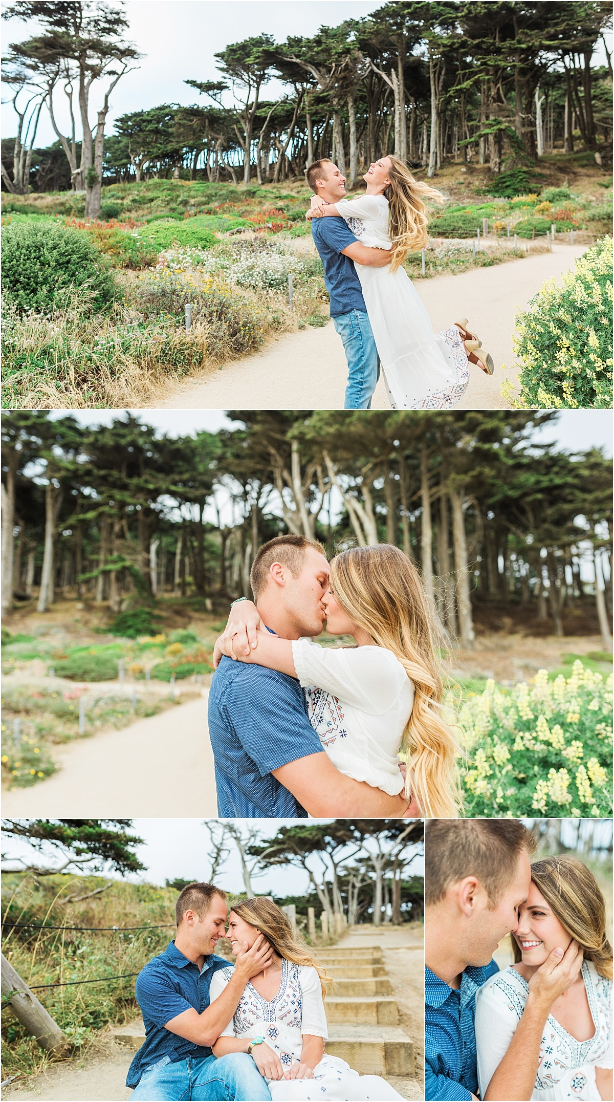 San Francisco Couples Session | Engagement, Anniversary, exploring the city