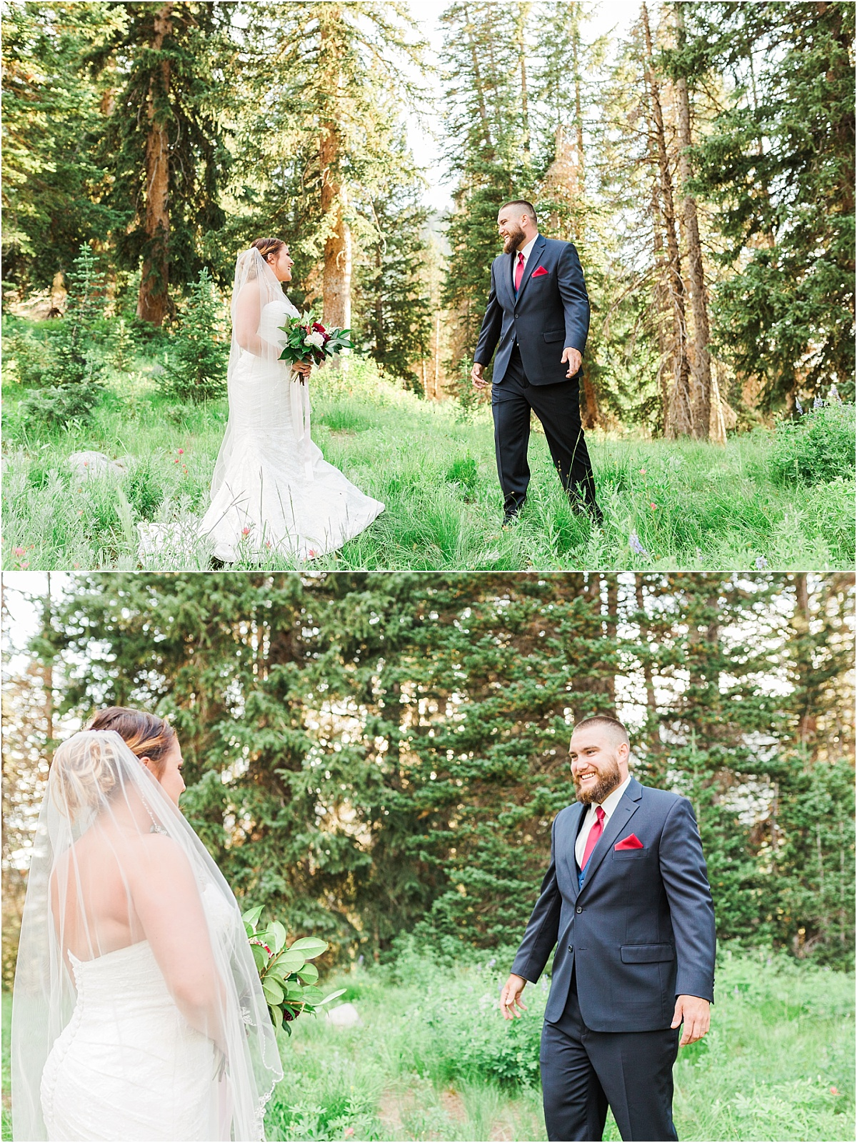 Albion Basin Formal Bridal Session, Little Cottonwood Canyon, Utah Wedding Photographer Ashley DeHart