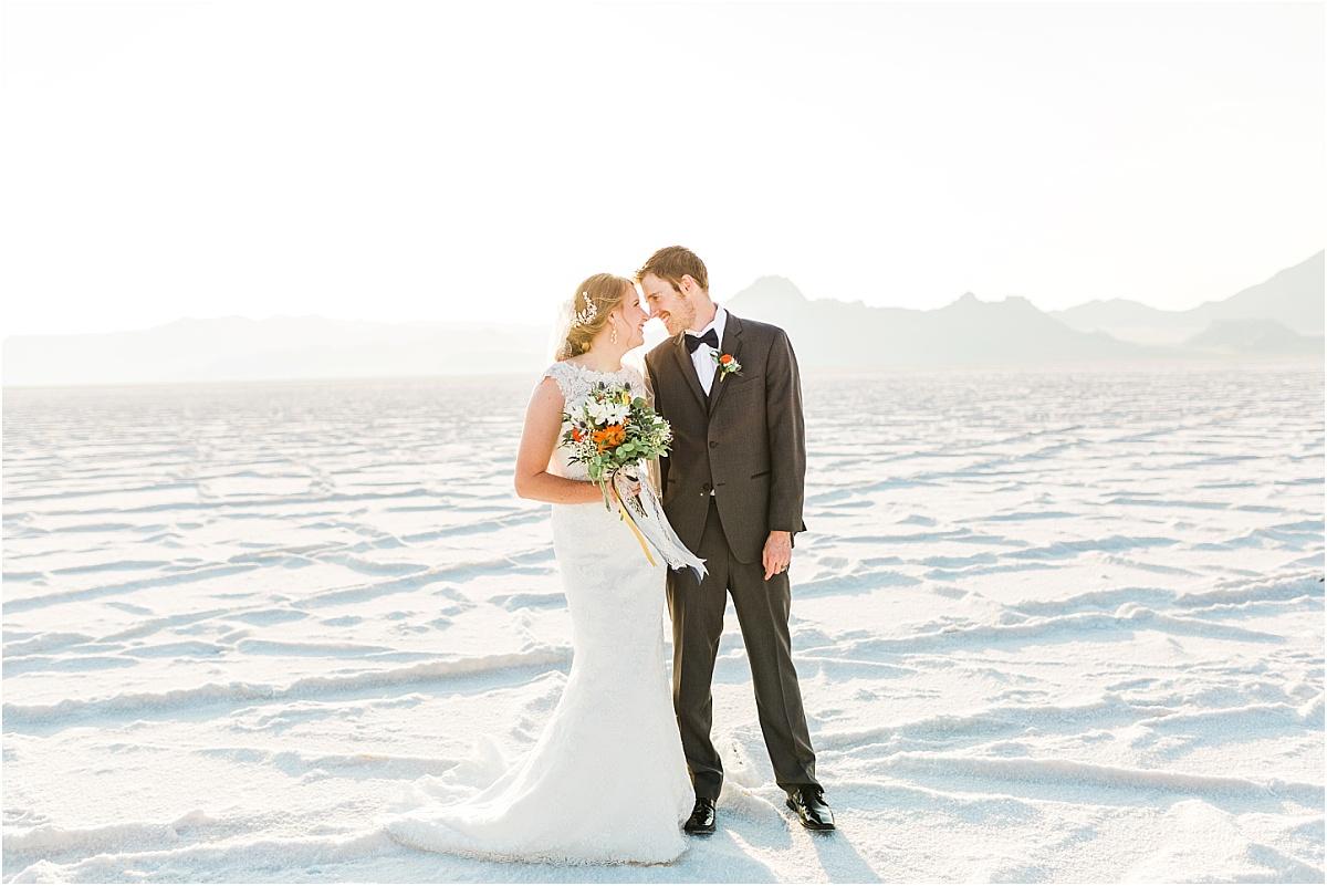 Salt Flats Formal Bridal Session | Utah Wedding Photographer